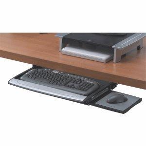 Fellowes Tastaturschublade OfficeSuite 365x605x75mm schwarz/silber