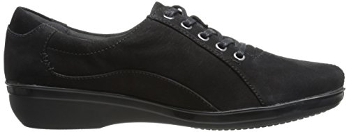Clarks Everlay Elma Oxford Black Nubuck