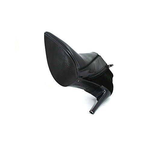 Stivali di pelle HI51722 e Hispanitas camoscio nero Nero