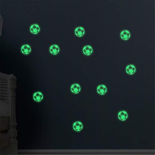 ber Dekoration Glow In The Dark Wand oder Decke Sterne mit Fußball Aufkleber - leuchtende Aufkleber Aufkleber für die Wirkung in der Nacht - ideal Kinder Dekor oder Erwachsene - pe ()