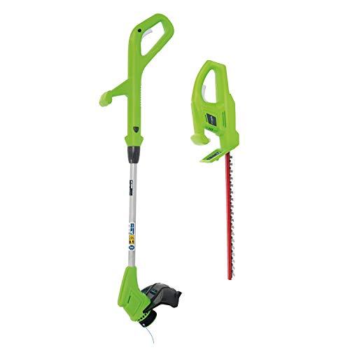 Greenworks 1302607 Heckenschere, 24 V, Grün
