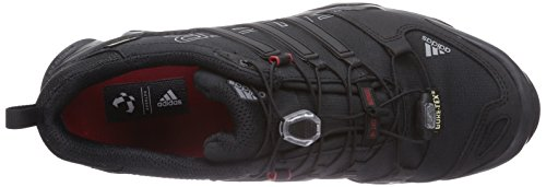 adidas Performance - Terrex Swift R Gtx, Scarpe da trekking da uomo Nero (Schwarz (Core Black/Vista Grey S15/Power Red))