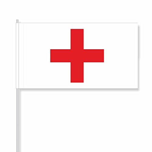 """antrada Drapeaux en Papier """"Croix Rouge"""" (50 pièces)"""