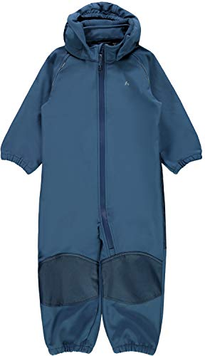 NAME IT Mini ALFA Magic Jungen Softshell-Anzug in Blau(Dark Denim) mit Magic Print (Blau/Dark Denim, 86)