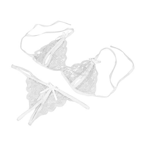 LANDF-OX Lenceria Sexy,Ropa Interior de Encaje de la Ropa Interior de la señora de la Ropa Interior...