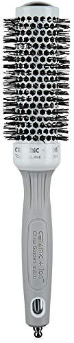 Olivia Garden Rundhaarbürste Ceramic + Ion 35, antistatische Ionen-Rundhaarbürste mit Keramikkörper und Nylonborsten, 35/ 50 mm - Hot-bürste Haar-styler