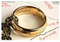LOTR Señor de los anillos un anillo collar
