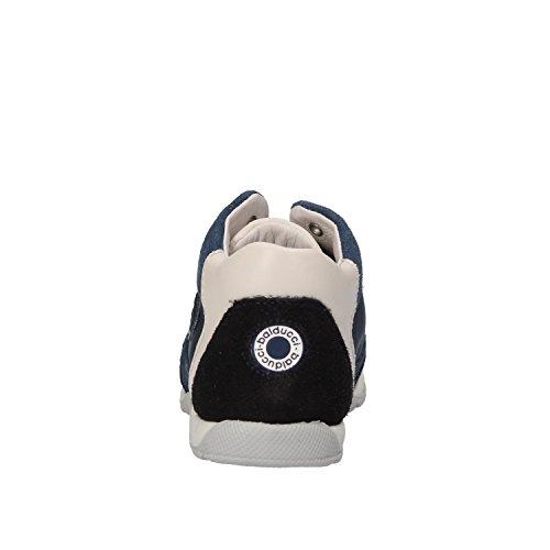 Balducci Camurça Novo Branco Tecido Tênis Cinza Azul qxrwq7z8S