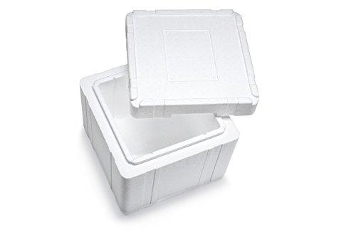Garnelio Premium Styroporbox/Isolierbox - 290x290x224mm (18,8l) - Gr. 15