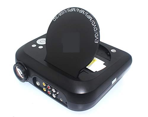 WUTONGMulti-Funktion Mini-Portable DVD-Projektor mit TV-Funktion Computer-Interface-Karte U-Disk Lesen