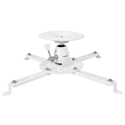 LogiLink BP0056  Halterung für Beamer und Projektoren bis 25 kg, Armlänge 135 mm Weiß