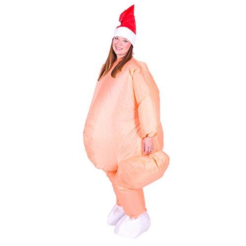 Imagen de hinchable adulto disfraz pavo  alternativa