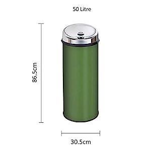 Inmotion 50L Green Automatic Sensor Kitchen Bin