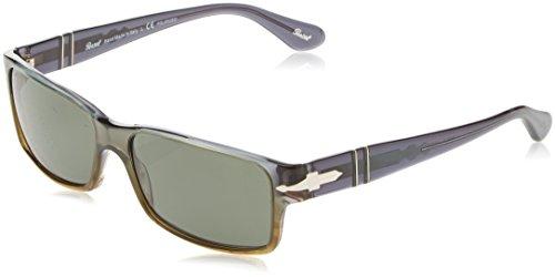 Persol Herren 2803 Sonnenbrille, Grün (Grey Green/Polargreen), 58