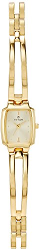 Titan Karishma Analog Gold Dial Women's Watch – NE2131YM04