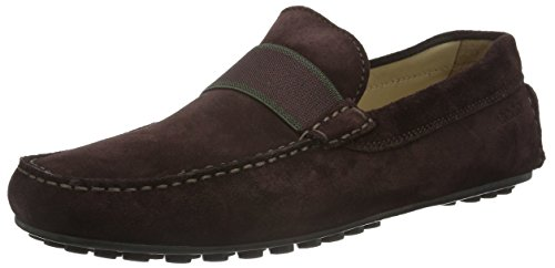 Ecco Hybrid B, Mocassins Homme Rouge (FUDGE05166)