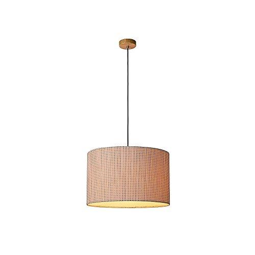 CONOS-Pendelleuchte-E27-D48cm-Brown