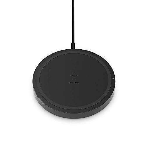 Belkin qi boost up tappetino di ricarica wireless da 5 w con caricabatteria wireless universale per iphone xr, xs, xs max / samsung galaxy s9, s9+, note9 / e smartphone lg, sony ed altri, nero