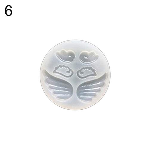 DIY Craft Angle Wing Mirror Silikon Mould Schimmel Epoxy Resin Mold Tool-6# - Silikon Moulds Molds