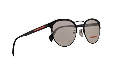 Prada PS52Hv Brillen 50-19-140 Schwarzer Radiergummi Mit Demonstrationsgläsern DG01O1 VPS 52H PS 52Hv VPS52H