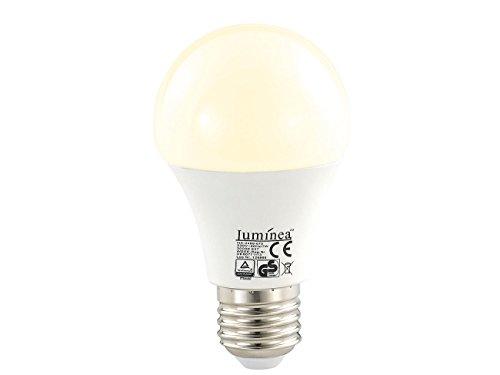 Luminea LED-Lampe mit E27-Sockel: Lichtstarke LED-Lampe, 7 W, E27, 2700K, EEK A+, 480 lm, 180° (LED-Tropfen E27 Warmlicht)