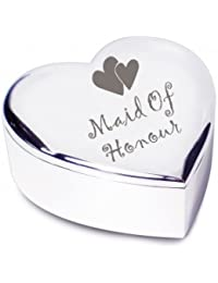 Wedding Gift Company Heart Trinket - Maid of Honour