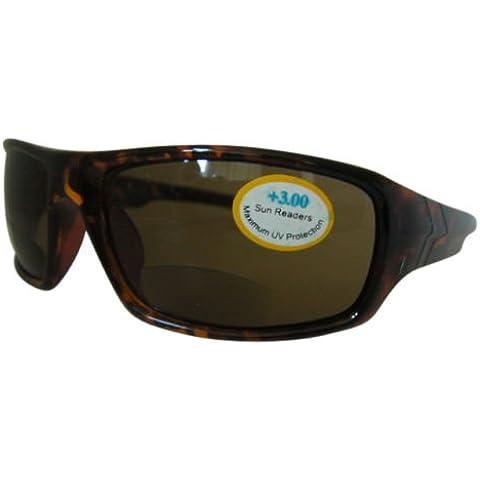 Integral tartarugato bifocale Ciclismo Sport Wrap Around 100% Protezione UV 166+ 3.0Occhiali Aviator Occhiali Frame per uomini e donne occhiali da sole sale