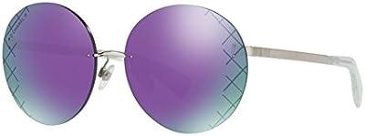 Chanel CH4216 C1244V occhiali da sole argento silver sunglasses sonnenbrille