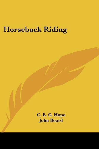 Horseback Riding por C. E. G. Hope