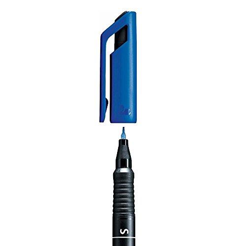 Stabilo 841/41 Folienschreiber OHPen Universal Superfein, permanent, blau