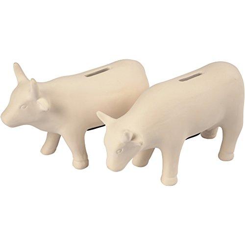 Hucha, vacas, A. 12 cm, l. 18 cm, 8ud