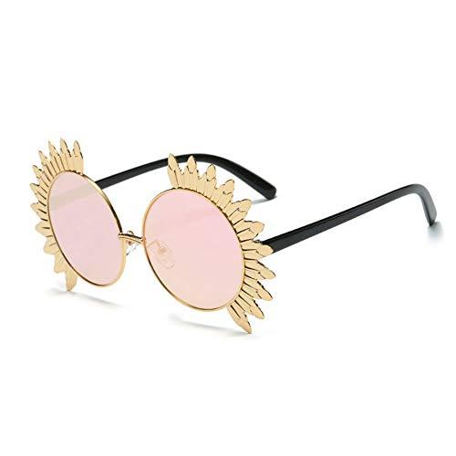 Thirteen Sonnenblume Sonnenbrille Anti-UV Geeignet Für Dekoration, Sonnenschutz, Reisen Im Freien, Einkaufen, Reisen, Fahren, Geeignet Für Eine Vielzahl Von Gesichtstypen. (Color : F)