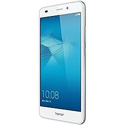 Honor 5C Smartphone débloqué 4G (Ecran : 5,2 pouces - 16 Go - Double Nano-SIM - Android 6.0 Marshmallow) Argent
