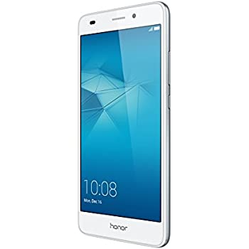 "Honor 5C Smartphone 4G, Display 5.2"" IPS LCD, 2 GB RAM, 16 GB memoria interna, Fotocamera da 13 MP, Android M EMUI 4.1, Batteria 3100 mAh, Dual SIM, Argento"