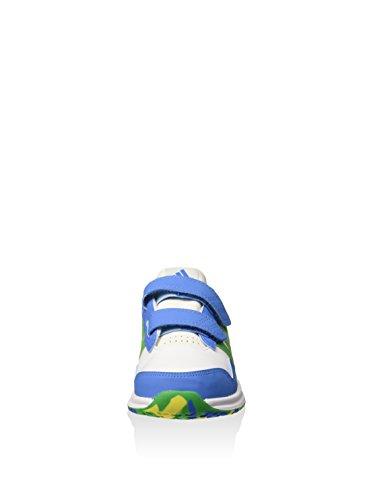adidas Snice 4 CF I Baby Jungen Lauflernschuhe Blanco / Azul / Verde