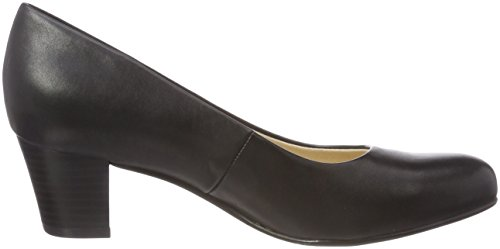 Caprice Damen 22309 Pumps Schwarz (Black Nappa 22)
