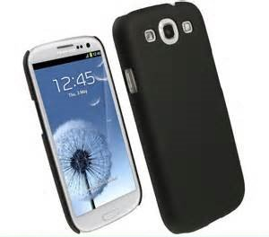Generic Ruberised Hard Case Back Cover for SAMSUNG GALAXY S3 I9300 - BLACK  available at amazon for Rs.179