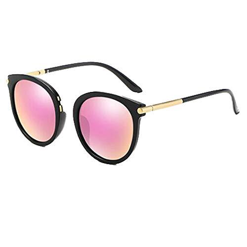 ANHPI Sonnenbrille Frauen Retro Polarisiert UV-Schutz HD Schattierungen, 4 Farben (Color : #4)