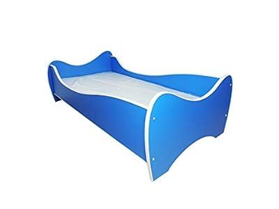 Cama individual, diseño de niño, diseño de habitación cama infantil con colchón 160 x 80!!!