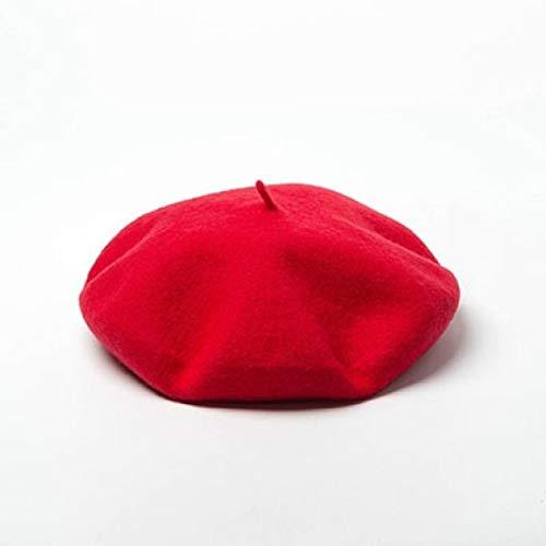 AROVON Hüte Unisex Wolle Baskenmütze Militär Französisch Hüte Herren und Damen Flat Caps Maler Hut große weibliche und männliche