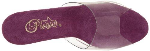 Pleaser - Stardust-701, Sandali Con Tacco da donna Clr/Purple Chrome