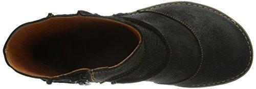 Art Oteiza 663, Boots femme Noir (Night)