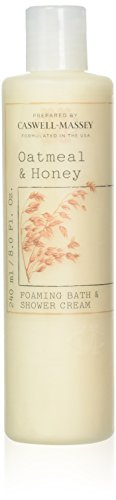 Caswell-Massey - Oatmeal and Honey Foaming Bath and Shower Cream