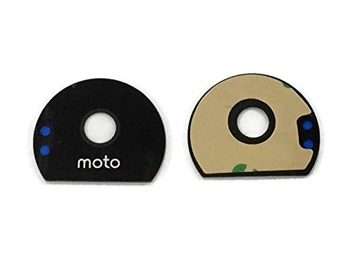 Pacificdeals Camera Lens With Adhesive Sticker For Motorola Moto Z / Z Play - Black