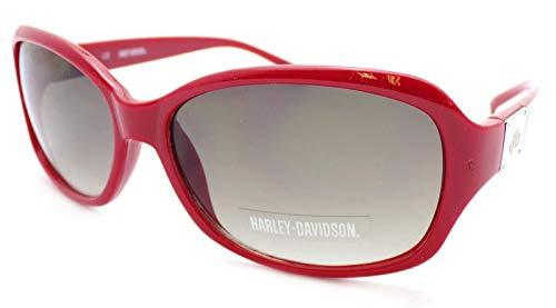 Harley Davidson Damen Sonnenbrille Rot rot