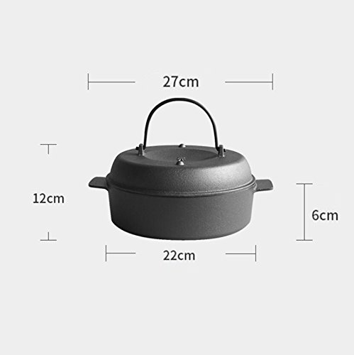DD Roasted pot stew household cast iron 22cm multifunctional sweet potato baked sweet potatoes corn Mother's Day Father's Day gift
