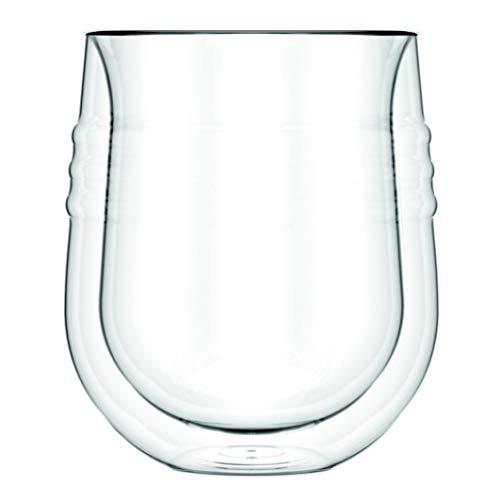 Skål: set 2 bicchieri da vino, doppia parete, 0.19 l