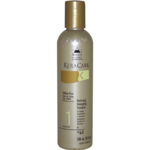 AVLON Keracare Hydrating Detangling Unisex Shampoo, 8 Ounce by AVLON (English Manual)