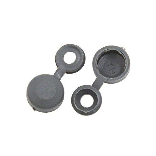 DealMux 20pcs 4.5mm Loch Scharnier Schraubdeckel Falten-Snap Caps für Auto-Haus Möbeldekor