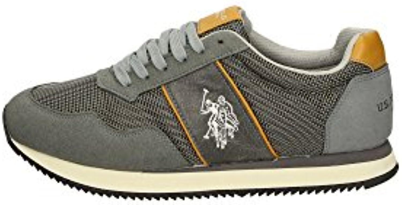 U.S. Polo Assn. NOBIL4044S6/NH2 Sneakers Herren Gewebe Grau 43